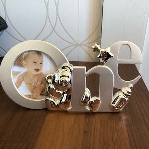 NWOT One Year Child Picture Frame